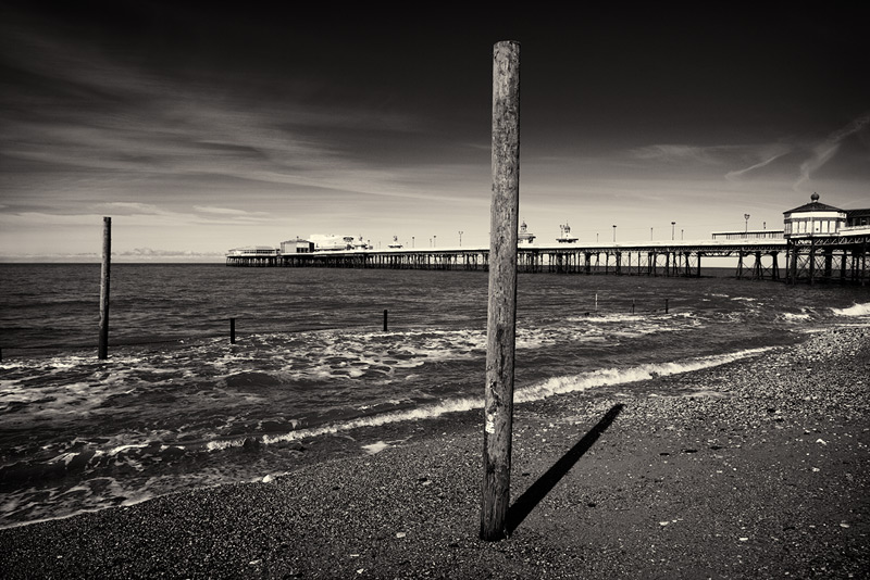beach telegraph / 3x2 + piers [North pier] + fylde coast