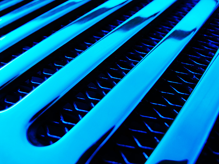 blue grill