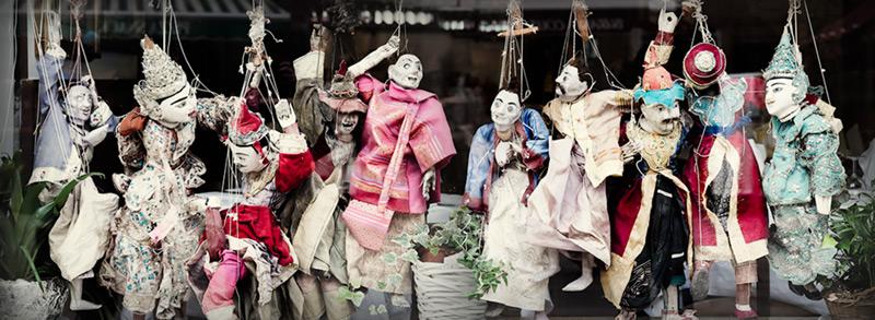 Burano puppets