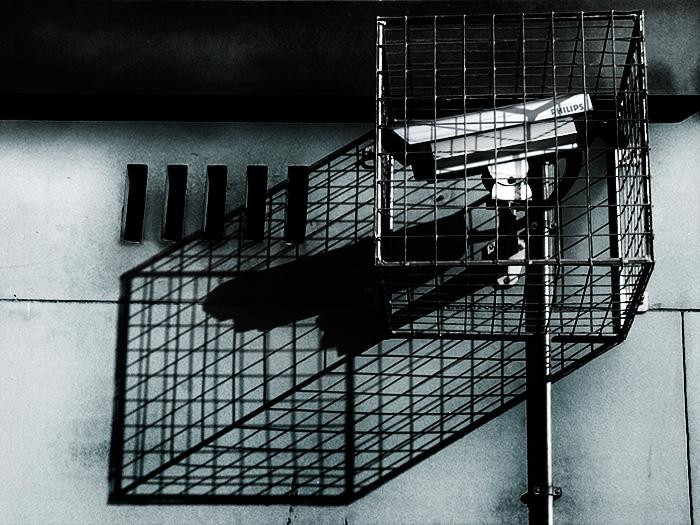 caged camera