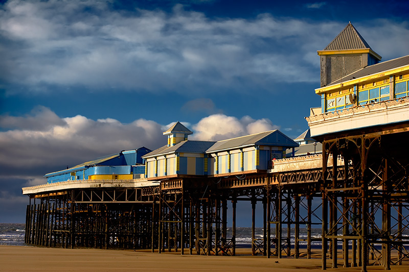 central pier / 3x2 + piers [Central pier] + fylde coast [scenic]