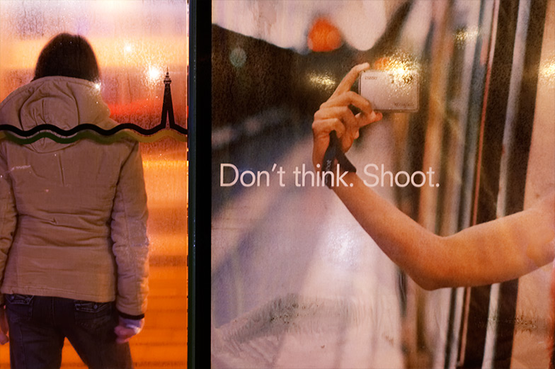 Don't Think. Shoot.