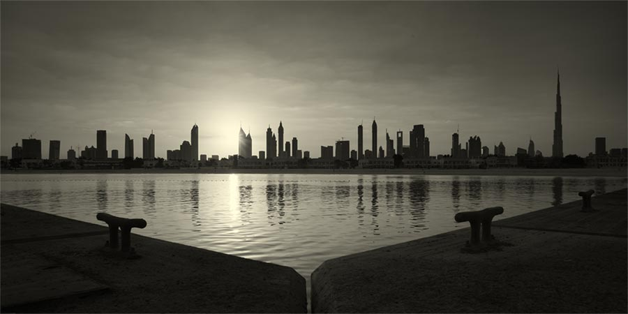 early morning Dubai #1