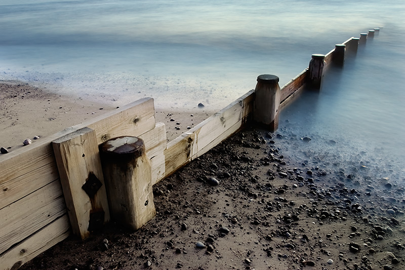 Escher's beach