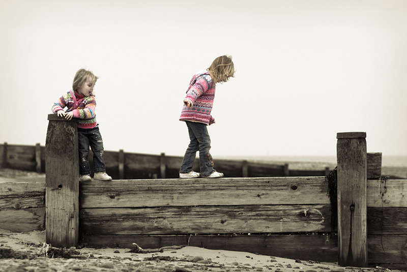 follow the leader #2 / 3x2 + children [portraits] + fylde coast [scenic]
