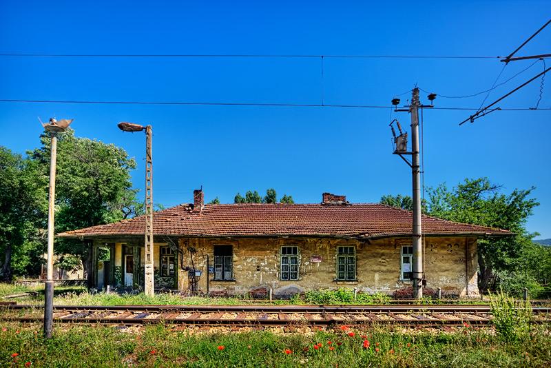 Ganchovets station #1 / 3x2 + HDR + travel [Bulgaria]