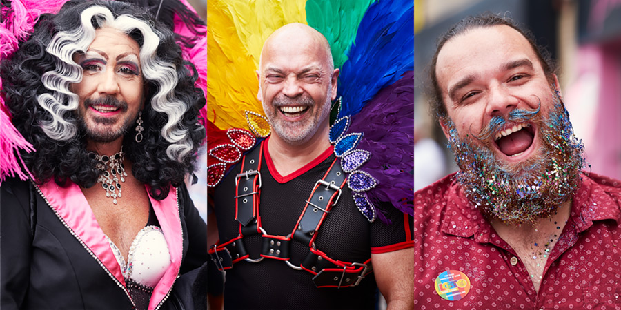 Gay Pride Blackpool 2016 #1 / 2x1 + camera [Fujifilm X-T1] + people [portraiture] + no print