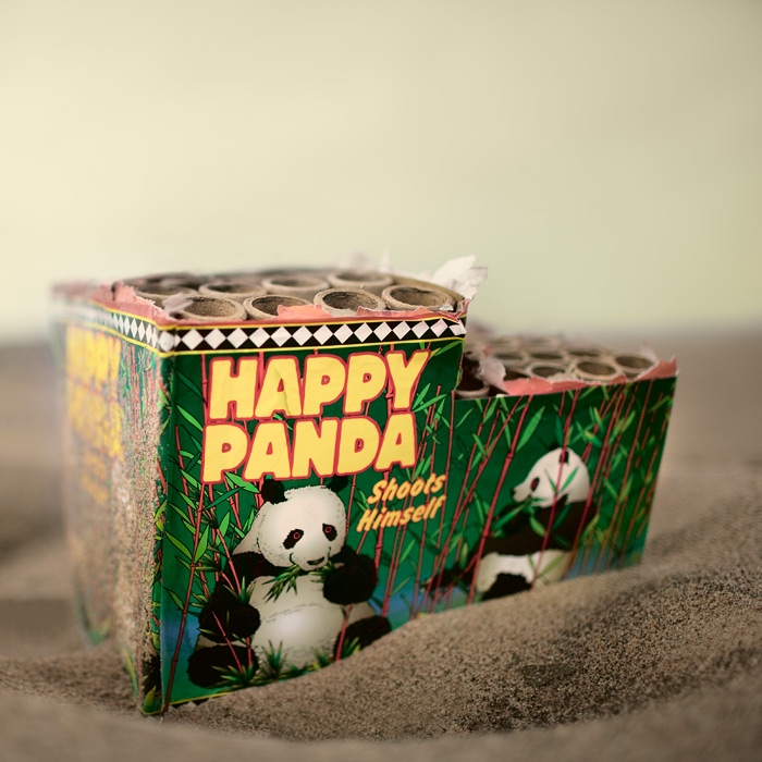 happy panda ... not