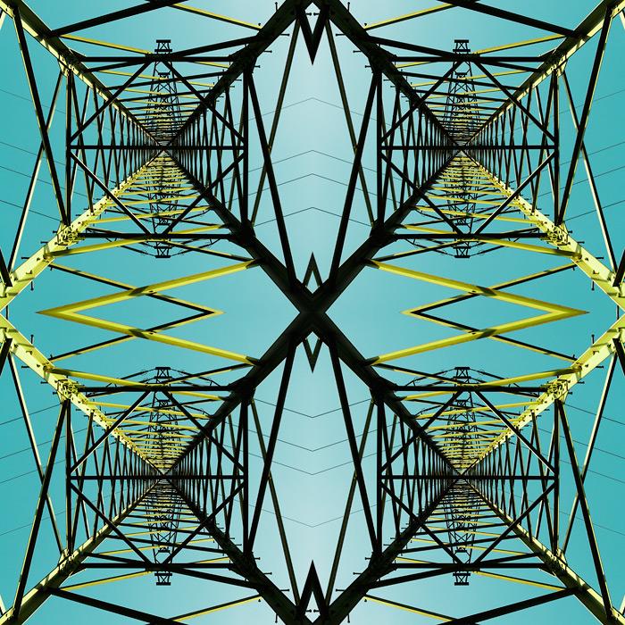 high voltage / 1x1 + abstract + digital art