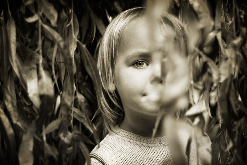 in the trees / 3x2 + children [portraits] + photo friday