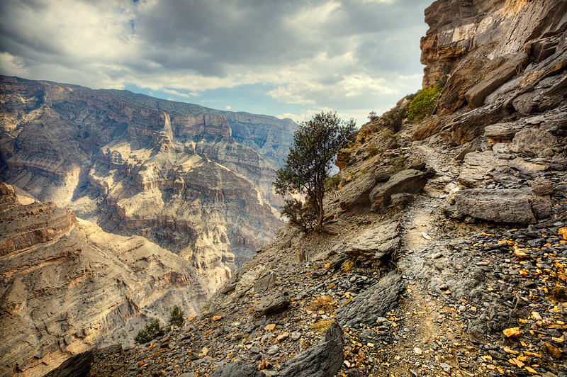 Jabel Shams canyon #1