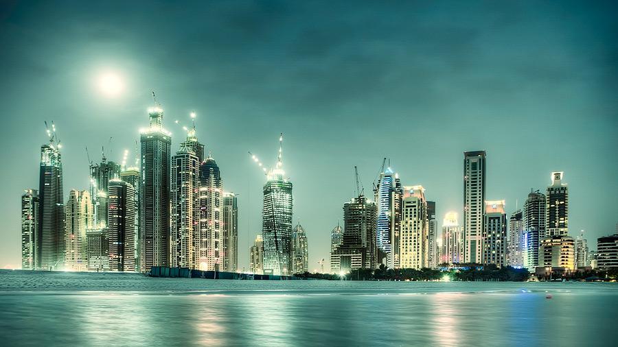Jumeirah beach #3 / 16x9 + HDR + travel [Dubai, UAE]