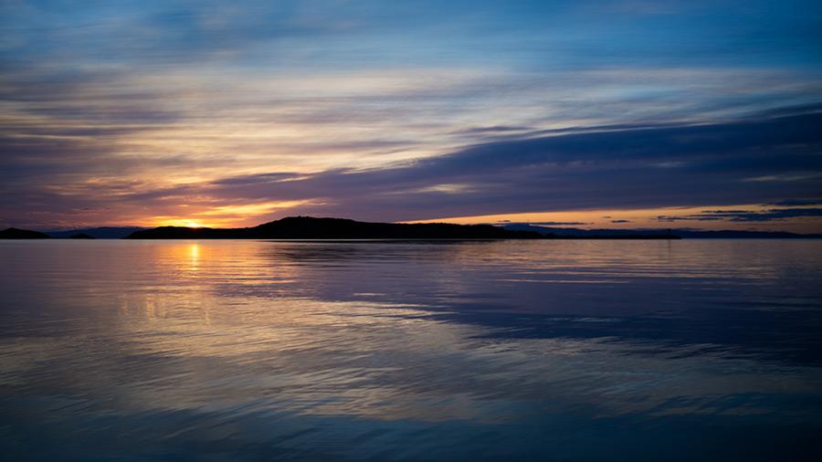 Jura sunrise