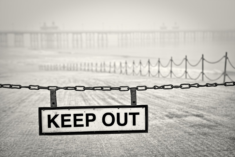 keep out #10