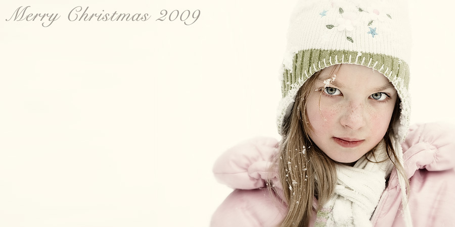 Merry Christmas 2009 (aka let it snow #2)