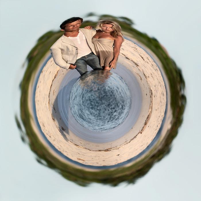 little planet #3 / 1x1 + people [portraiture] + digital art + little planets