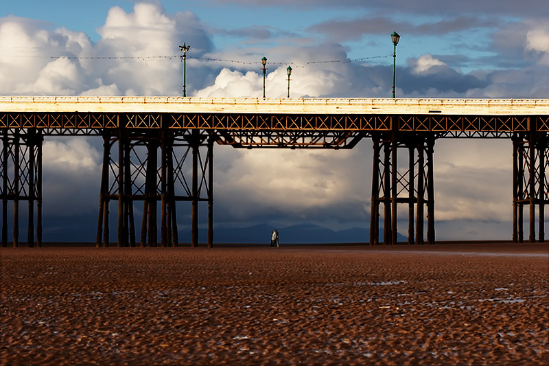love's small energy / piers [North pier] + fylde coast [scenic] + commissions + no print + people