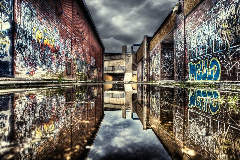 mello / 3x2 + HDR + urban