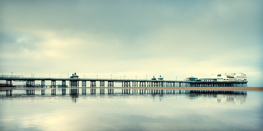 North Pier (revisited) #1 / 2x1 + piers [North pier] + fylde coast [scenic] + show the original