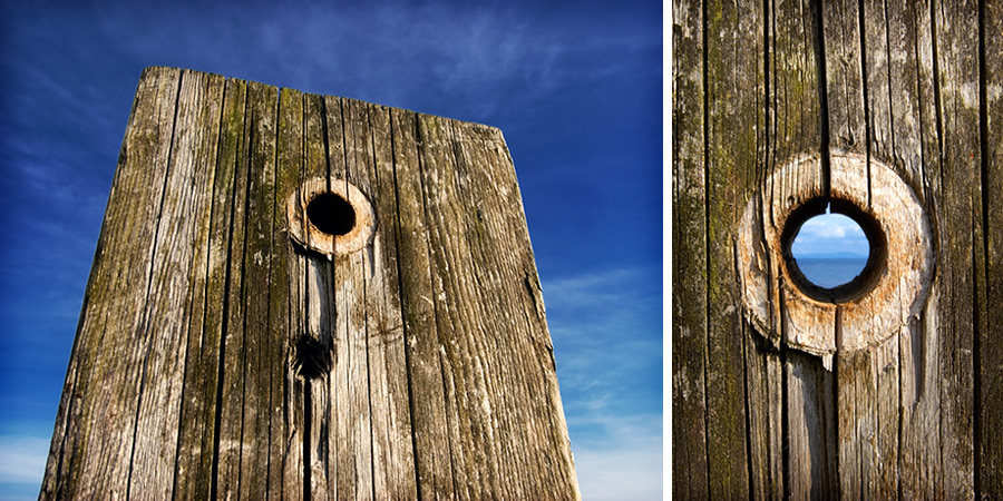 old post (diptych)