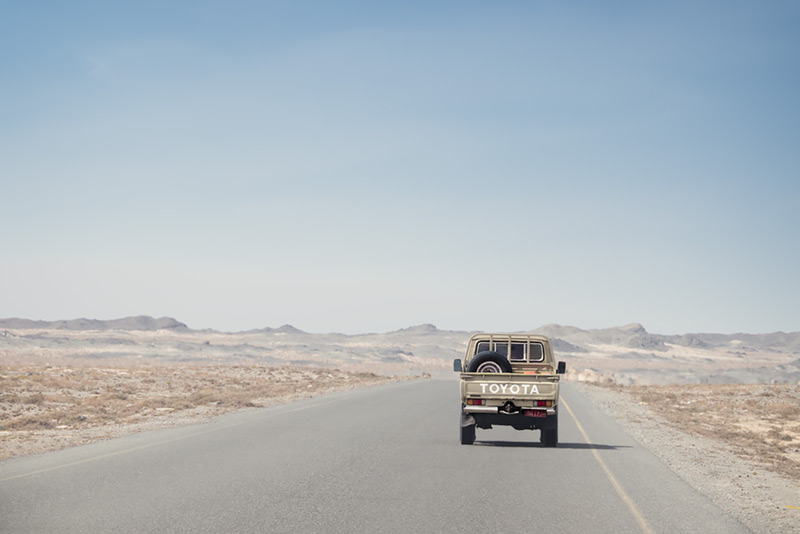 On the road in Oman #6