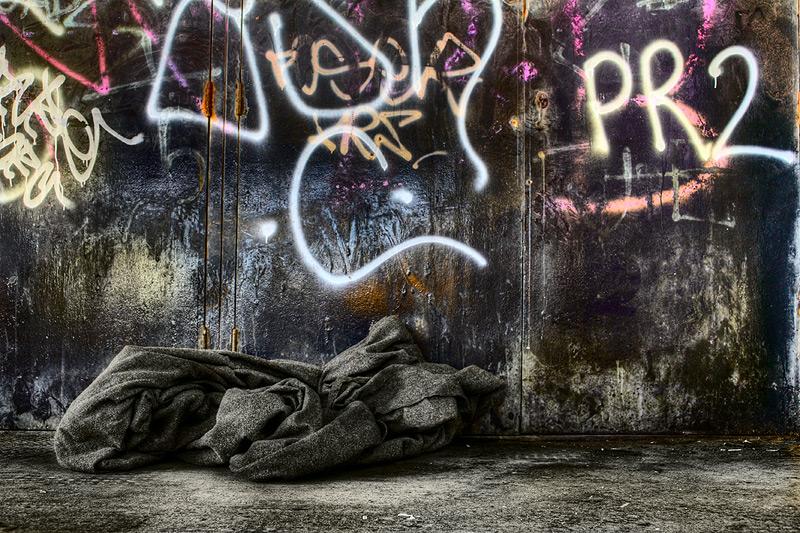 PR2 / 3x2 + HDR + graffiti + urban