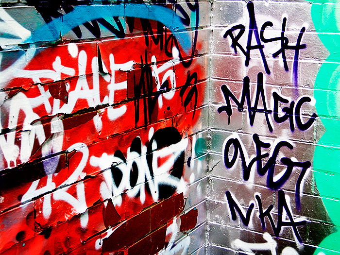 rash magic / 4x3 + graffiti