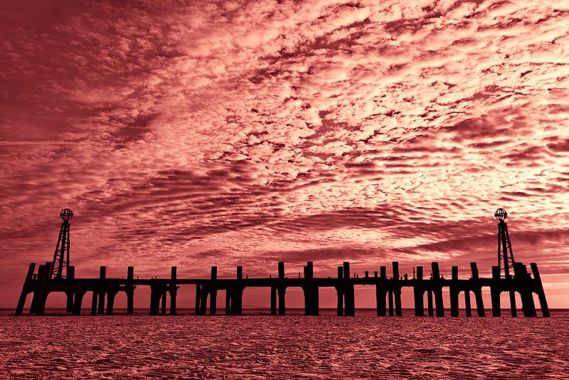 St. Annes sunset #5 / 3x2 + fylde coast [scenic]