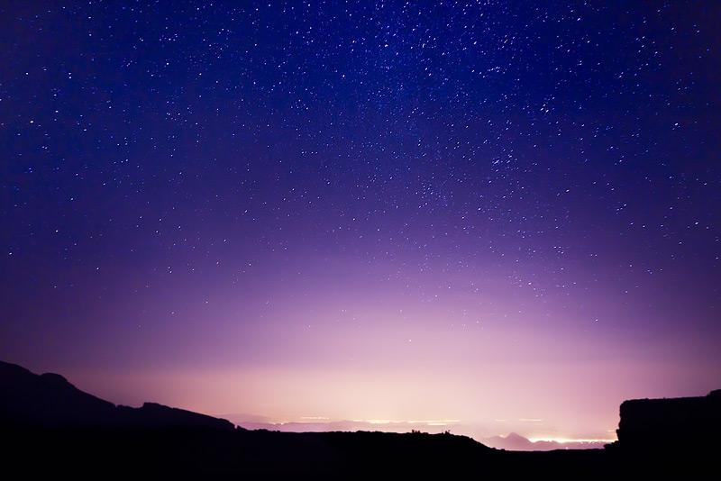 Starlight at Jabel Shams
