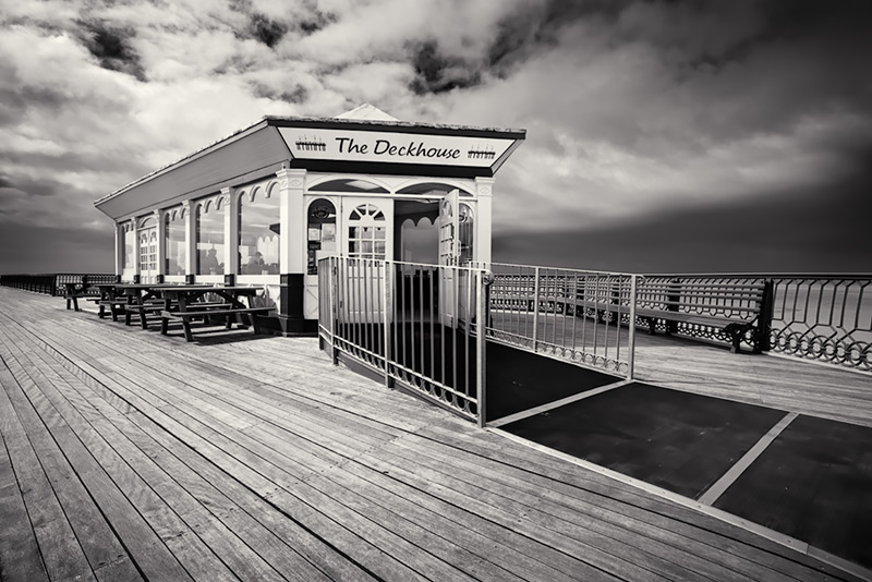 the deckhouse / 3x2 + camera [Sony A99] + piers [St. Annes] + fylde coast [scenic]