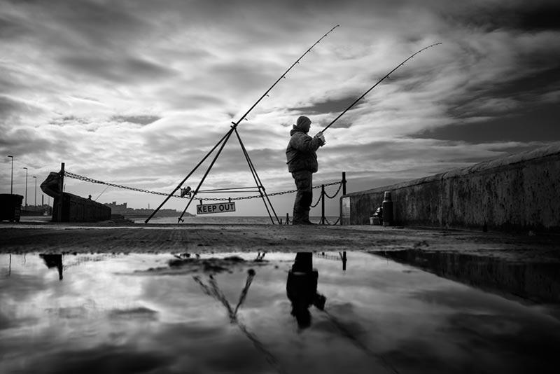 the fisherman / 3x2 + camera [Sony RX1] + fylde coast [scenic] + people + show the original