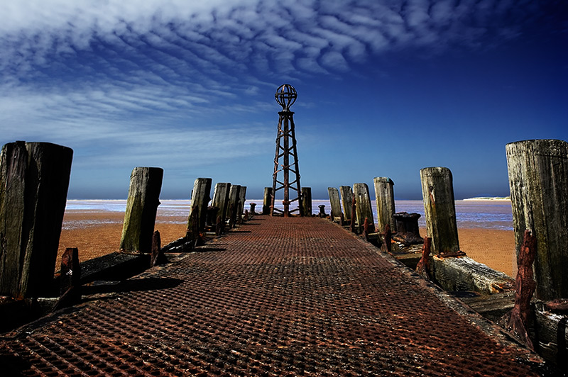 the pier's end #1 / 3x2 + piers [St. Annes] + fylde coast [scenic]