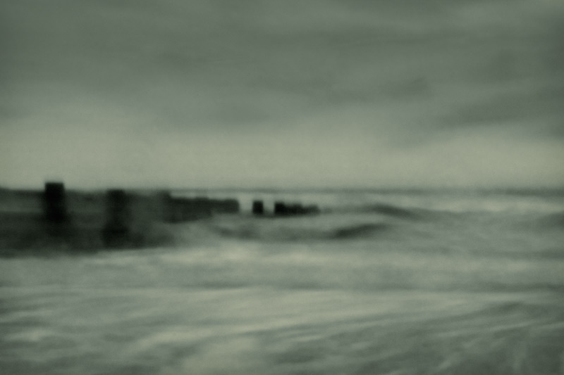 the sea dreams / 3x2 + fylde coast [scenic] + pinhole photography
