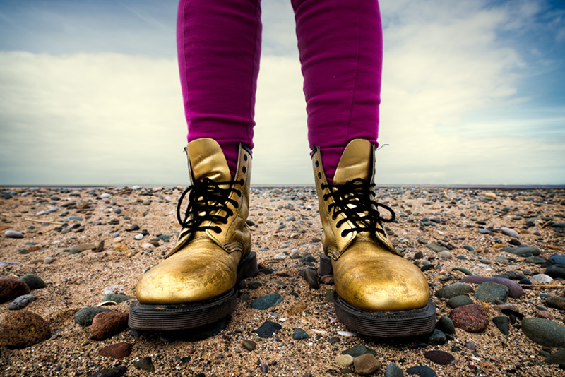 these boots ... / 3x2 + camera [Sony A99] + beachcombing + show the original