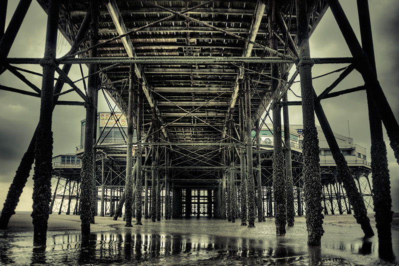 under the north pier #2