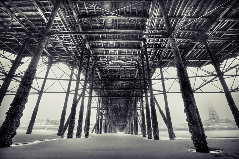 under the north pier #3