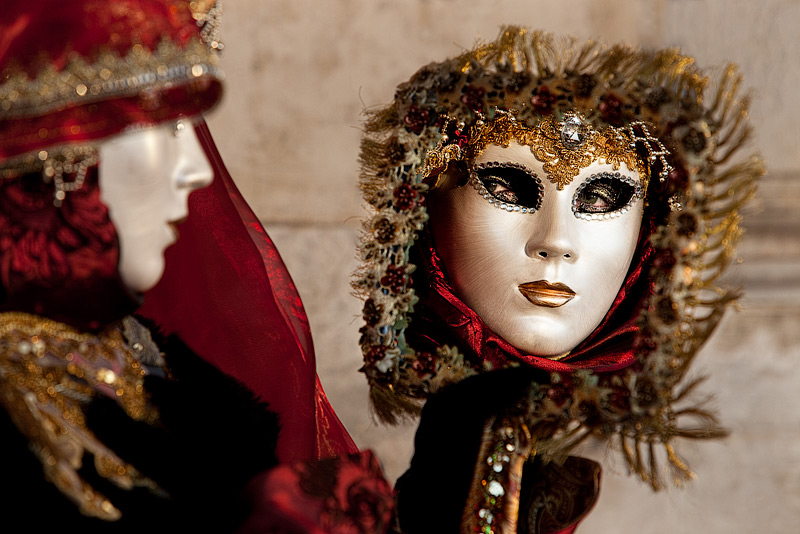 Venice Carnival 2012 #9 / 3x2 + travel [Venice, Italy] + people [portraiture] + show the original