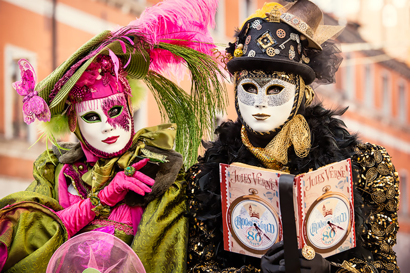 Venice Carnival 2014 #10 / 3x2 + travel [Venice, Italy] + people [portraiture] + show the original