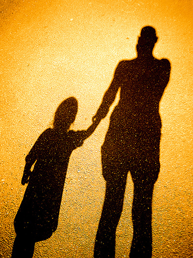 walking on shadows / 4x3 + children [portraits] + people [portraiture] + self-portrait