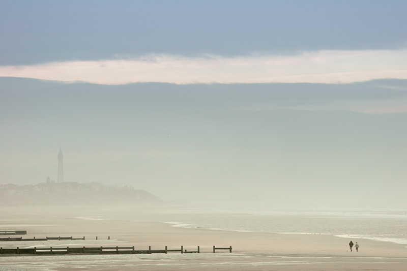 winter island #1 / 3x2 + Blackpool Tower + fylde coast [scenic]