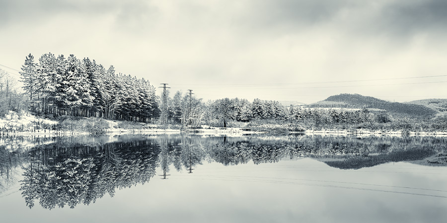 winter lake #3