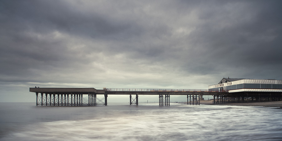 winter pier / 2x1 + piers [Fleetwood] + fylde coast [scenic]