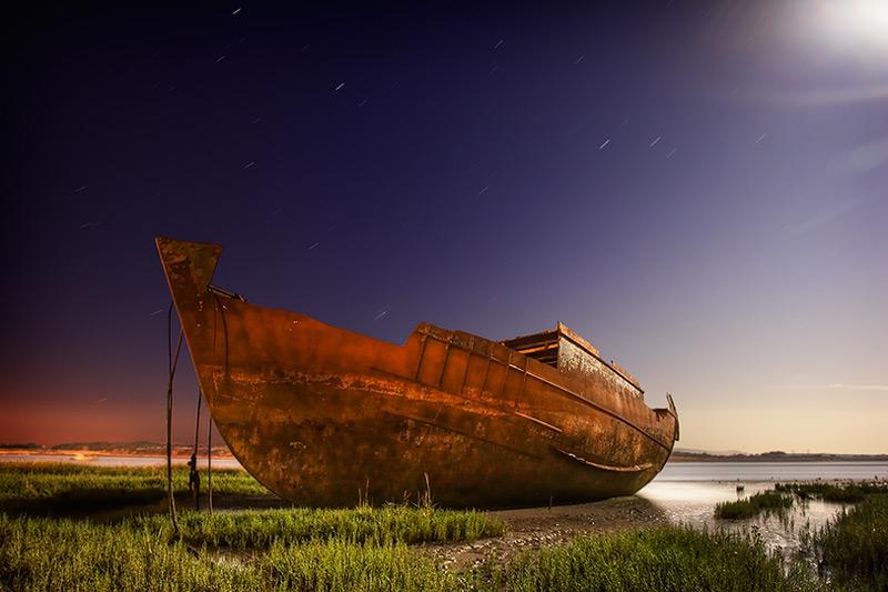 wyre wreck #10 / 3x2 + night shots [long exposures] + fylde coast [scenic]