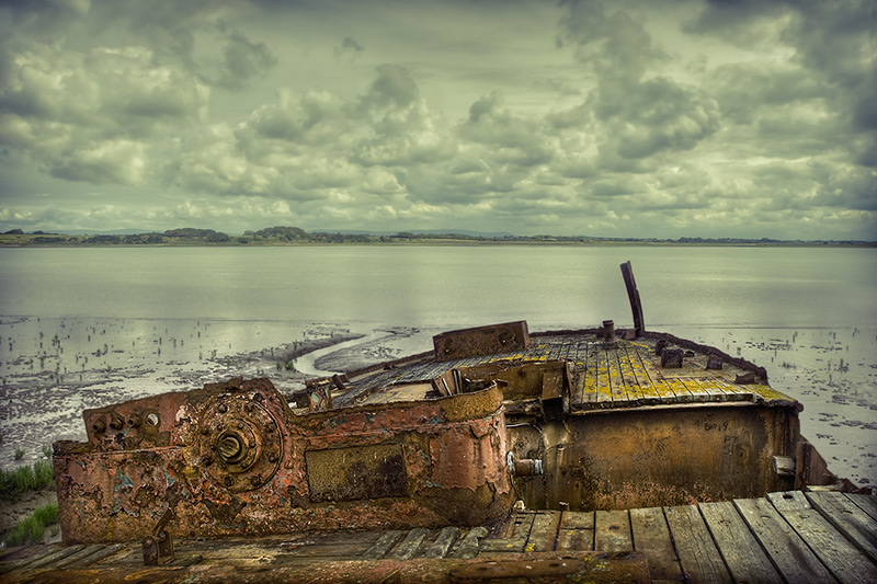 wyre wreck #7 / 3x2 + HDR + fylde coast [scenic]