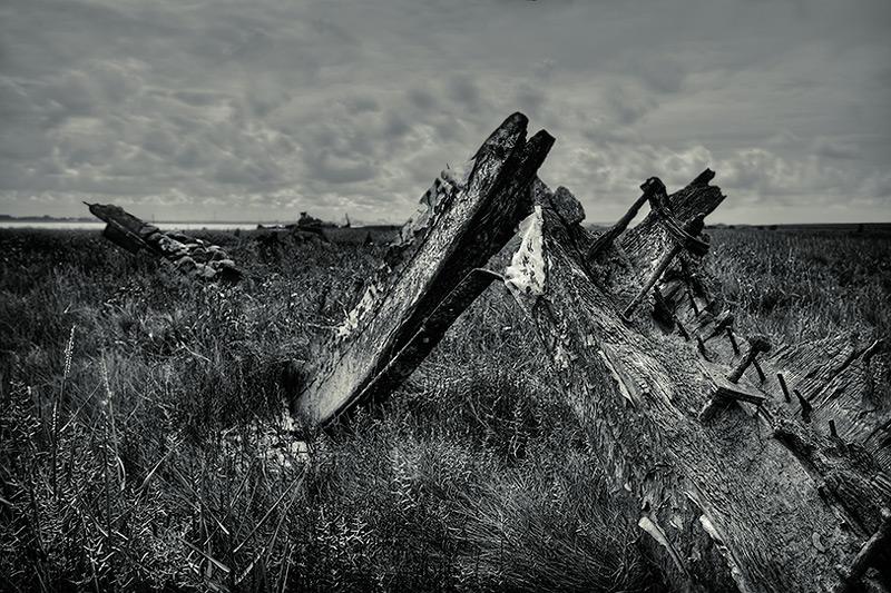 wyre wreck #8 / 3x2 + HDR + fylde coast [scenic]