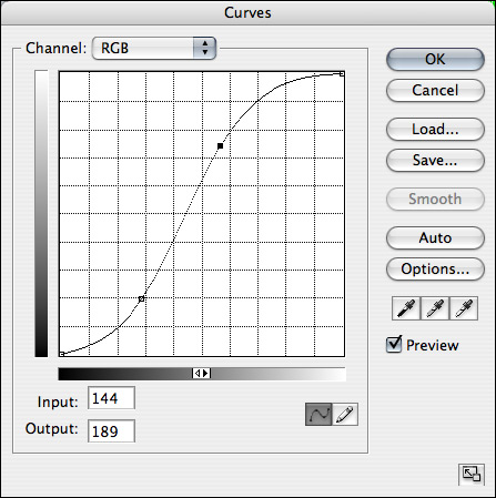 Photoshop What Is A Quot Slanted S Quot In A Curves Layer