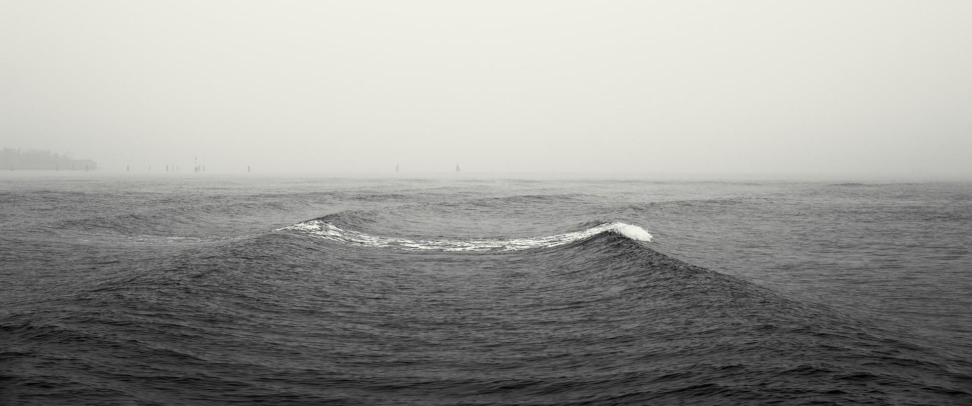 Wake and Waves / Venice Show the Original Fujinon XF 16-55mm f/2.8 Fujifilm X-T2 Black & White [wake and waves f]